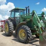 John Deere 4455 loader tractor.