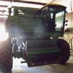 John Deere 8820 combine.