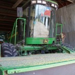 John Deere 4995 swather / hay conditioner.