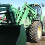 JD 7430 loader tractor.