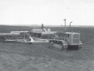 48-foot planter developed on a frame built by Ward, circa 1950s.